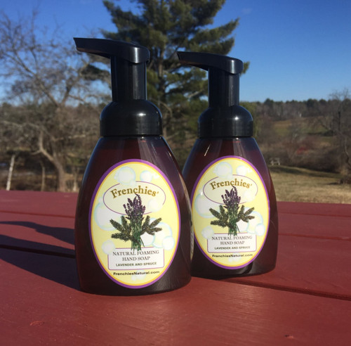 Lavender and Spruce Natural Foaming Hand Soap Two Pack Special