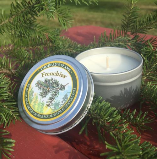 Thoreau's Flame Candle
