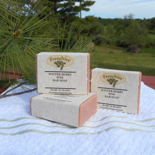 Frenchies' Winter Berry Pine Bar Soap