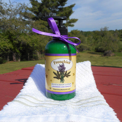 Lavender and Spruce Hand & Body Lotion