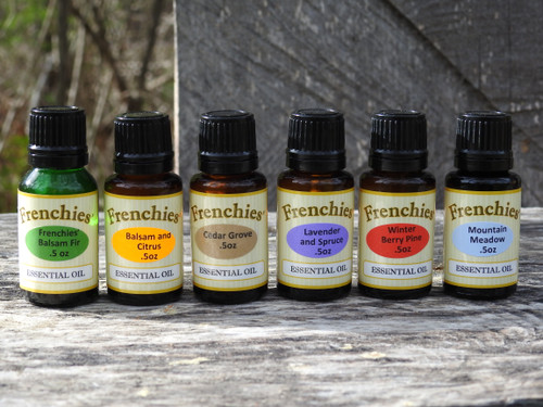 Frenchies' Pure Essential Oil combinations - .5 oz bottles