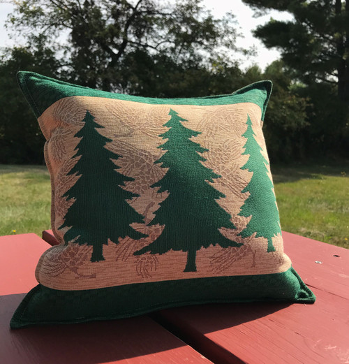 Fir Trees XL Tapestry Balsam Pillow