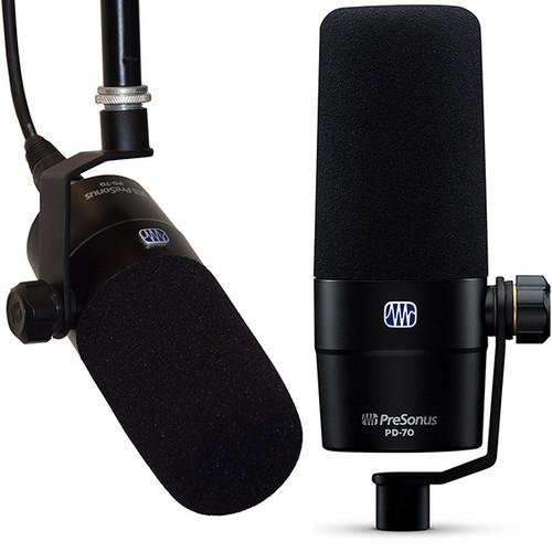 PreSonus PD70 Broadcast Mic