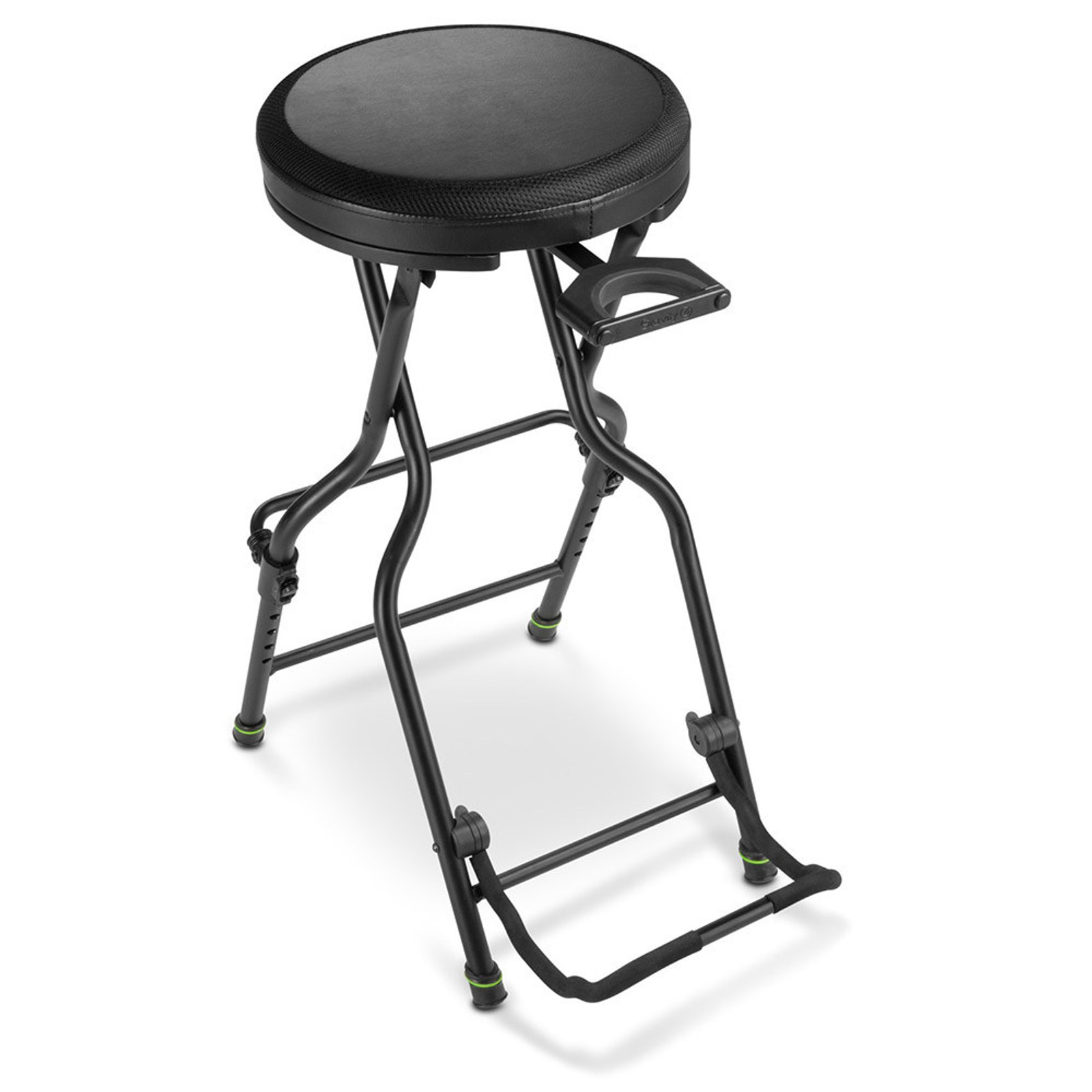 GRAVITY GFGSEAT1 SEAT WITH BUILT IN GUITAR STAND