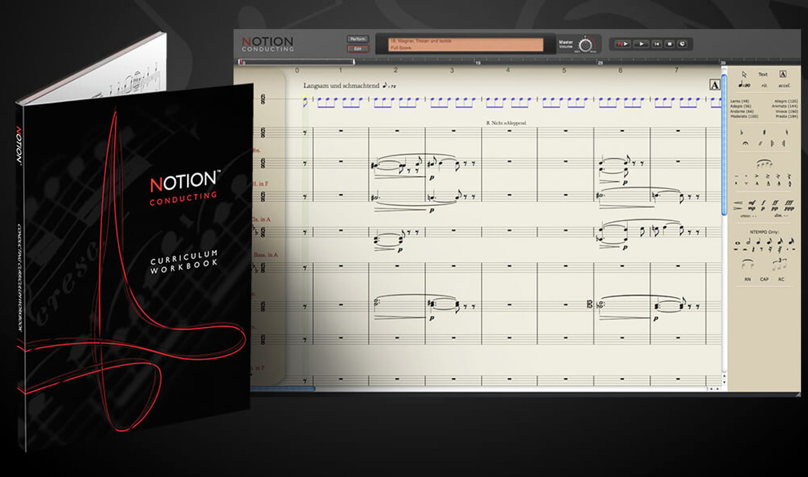 Notion Conducting - Software & book with scores
