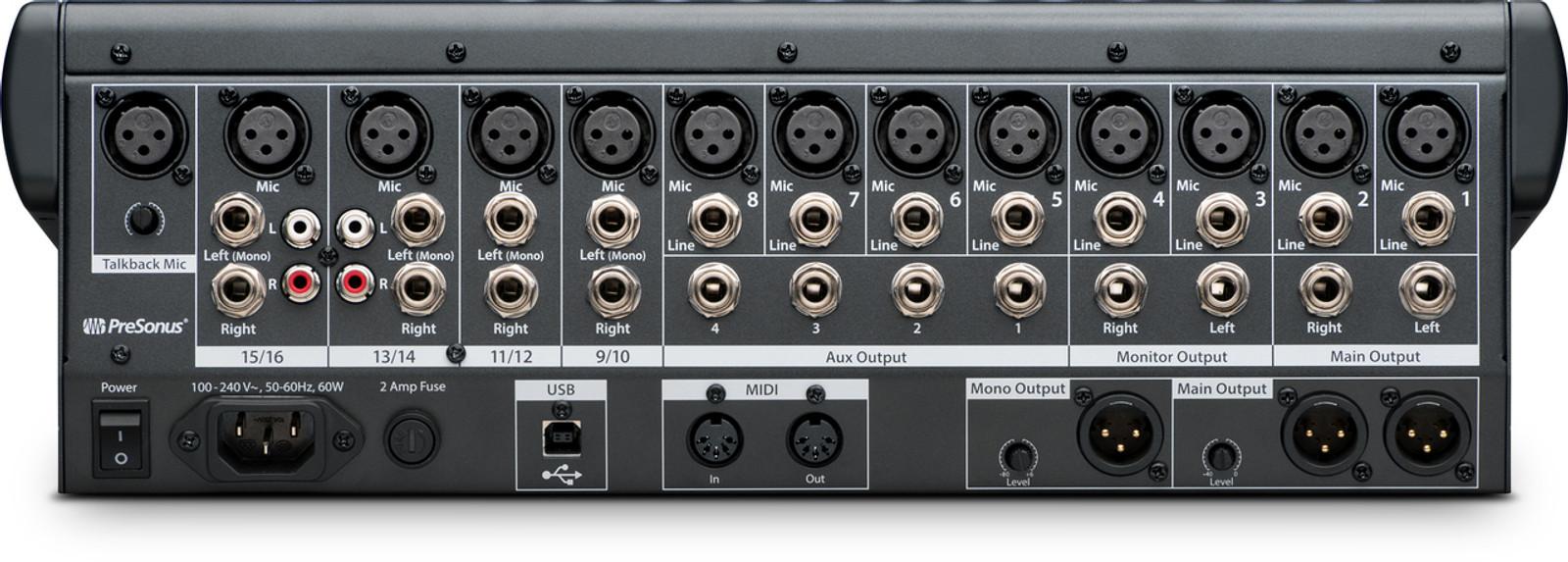 STUDIOLIVE SL1602-USB