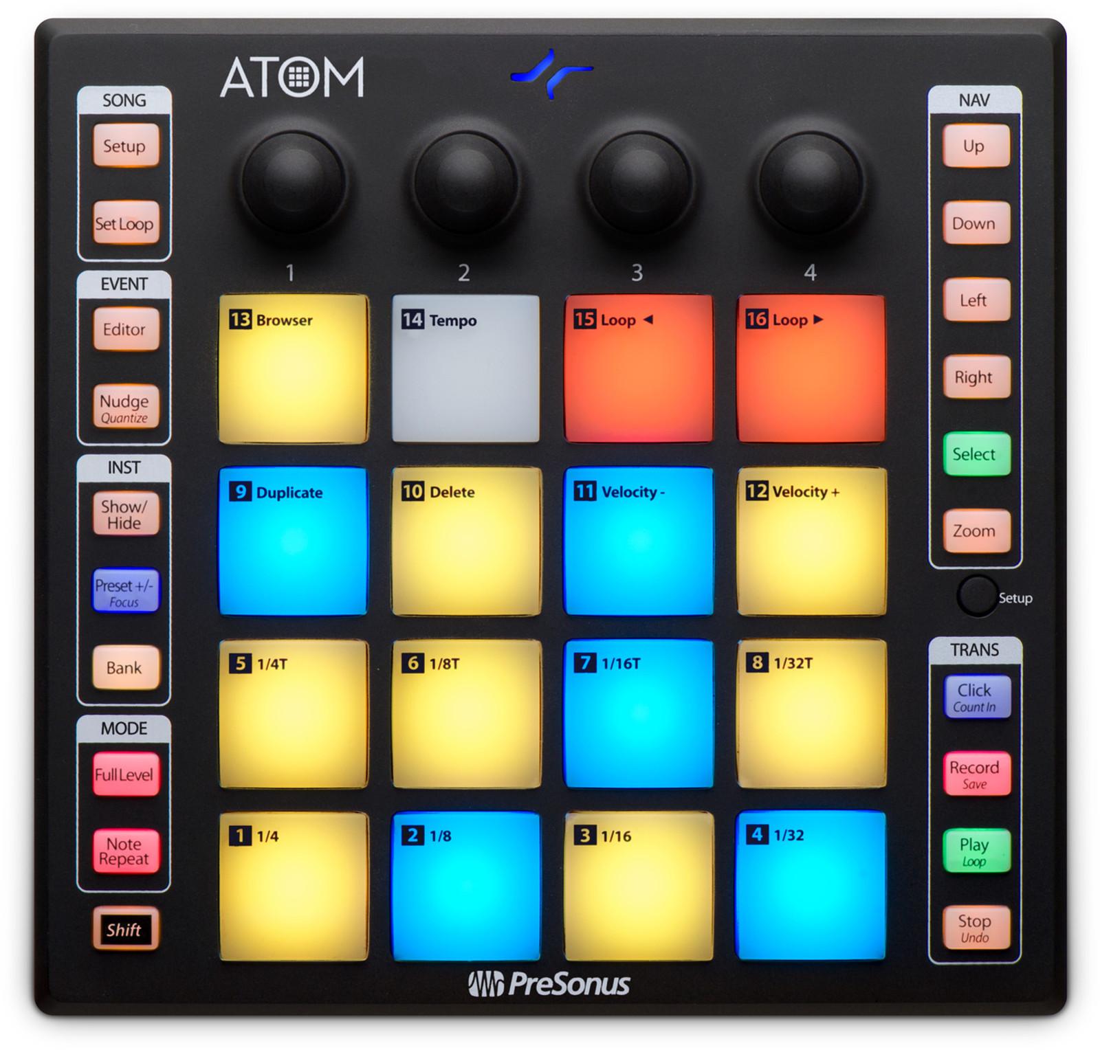ATOM Pad Controller