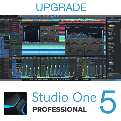 Studio One 5 Pro to Pro Upgrade (from all earlier versions)