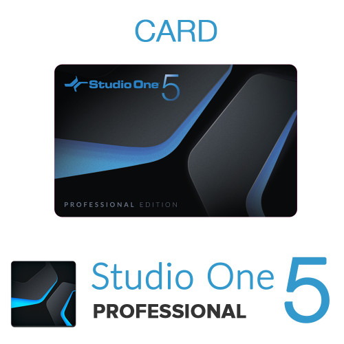 Studio One 5 Professional Card with License