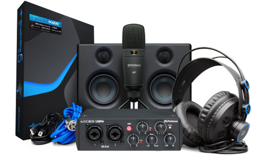 AUDIOBOX USB96 BLACK STUDIO ULTIMATE BUNDLE