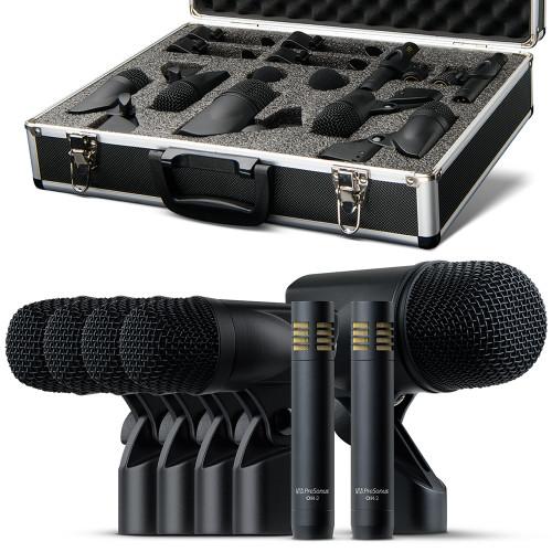 DM7  7 piece Drum Mic set w/ hard case