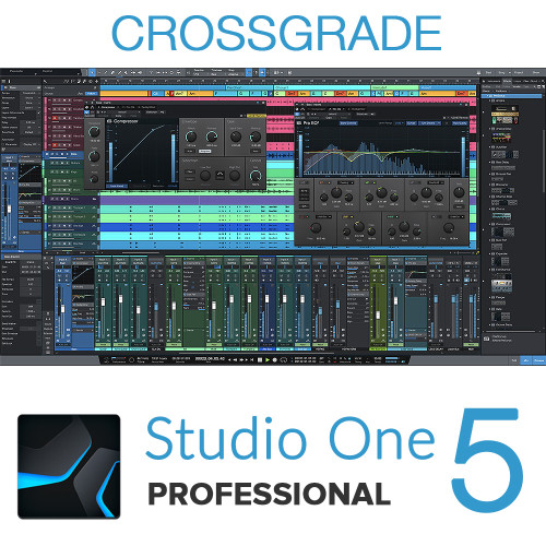 Studio One 5 Professional Crossgrade from any DAW
