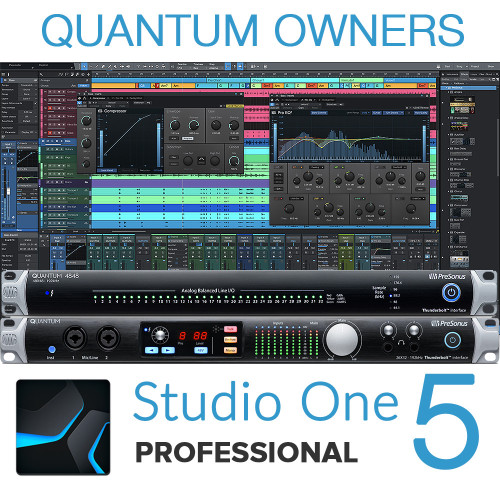 Studio One 5 Artist to Pro Upgrade for Quantum & Q4848 owners