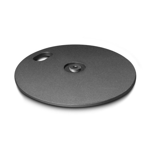GRAVITY WEIGHT PLATE FOR ROUND BASE MICROPHONE STANDS