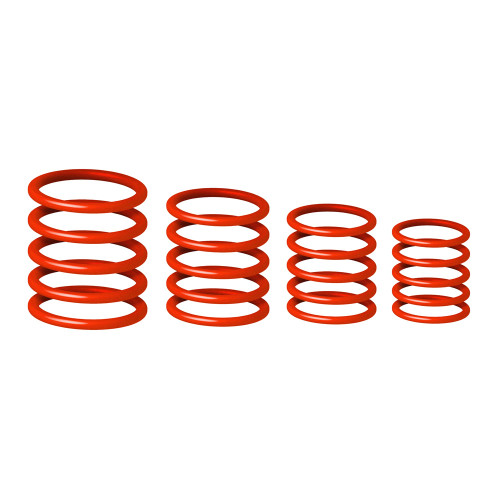 GRAVITY GRP5555RED1 UNIVERSAL RING PACK LUST RED