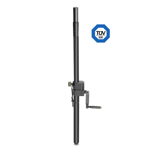 GRAVITY ADJUSTABLE SPEAKER POLE WITH CRANK 35MM TO M20