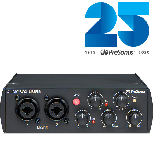 AUDIOBOX USB96 BLACK 25th ANN