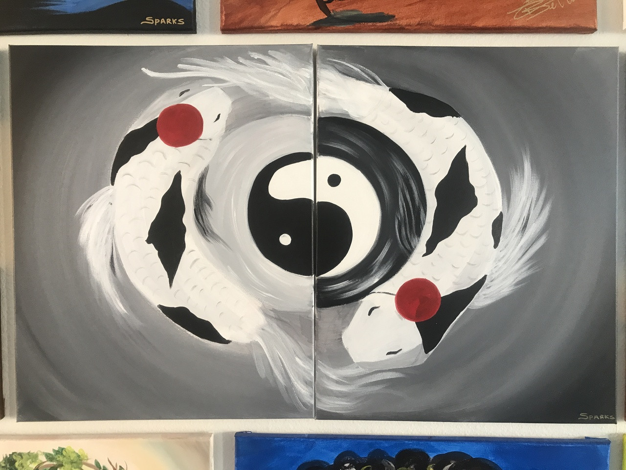 Yin Yang Koi Fish Products