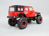 RC 1/10 Rock Crawler JEEP WRANGLER RUBICON 4X4 RC TRUCK Crawler RTR -RED-