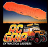 RC Truck Rock Crawler Scale Accessories RECOVERY RAMPS Extraction LADDER Orange