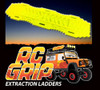 RC Truck Rock Crawler Scale Accessories RECOVERY RAMPS Extraction LADDER Yellow
