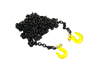1/10 Black Chain with Yellow hooks