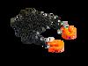 1/10 Black Chain with Orange hooks