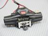 RC  Truck DUAL Motor WARN Electric WINCH Metal BLACK