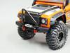Traxxas TRX-4 DEFENDER Front Metal Bumper BLACK