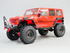 Axial Jeep Wrangler with 1.9 Black rims