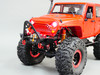 1/10 RC Jeep Wrangler Rubicon w/ Dual Motor Metal Winch