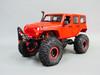 1/10 RC Jeep Wrangler Rubicon V8 Rock Crawler 8.4V *RTR* Red