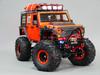 Custom Built 1/10 RC JEEP WRANGLER RUBICON 2-Speed Rock Crawler Orange