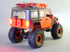 Custom Built 1/10 RC JEEP WRANGLER RUBICON 2-Speed Rock Crawler 8.4V *RTR* Green