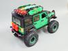 Green RC Jeep Wrangler Rock Crawler