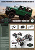 1/10 Land Rover Defender D90 W/Finished Body RTR