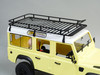 RC Land Rover D110 Defender 110 Metal Roof Rack for rc4wd