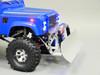 Custom RC Land Rover Defender 90 Snow Plow D90 8.4v RTR