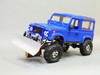 rc scale truck snow plow