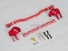 Axial Scx-10-2 Metal Knuckles + Steering Links Set Red