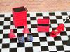 D'Magic 1/10 3.5T FLOOR JACK Scale Garage  Accessories  DMG-200