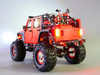 Custom Built 1/10 RC JEEP WRANGLER RUBICON 2-Speed Crawler 8.4V