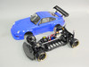 RC 1/10 Drift PORSCHE 911 TURBO RWB Yokomo AWD Chassis w/ GYRO +LED RTR