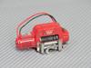 1/10 Scale WARN Dual Motor Metal Winch W/ Wireless Controller BLACK