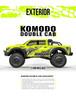 Gmade 1/10 GS02 KOMODO Double cab TS KIT #GM57004
