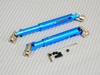 Universal METAL DRIVESHAFTS Lightweight Aluminum 100-150mm Driveshafts - BLACK-