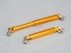Universal METAL DRIVESHAFTS Lightweight Aluminum 100-150mm Driveshafts - GOLD -