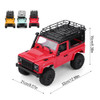 RC 1/16 Truck Land Rover D90 4X4 RC Rock Crawler *RTR* Red