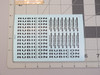 1/10 Scale JEEP Wrangler Rubicon DECAL Sheets (1) Water Slide +(1) Chrome