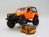 RC 1/14 Jeep Wrangler Rubicon 4x4  *RTR* Orange Bikini Top